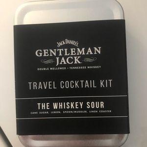 Jack Daniels travel cocktail kit